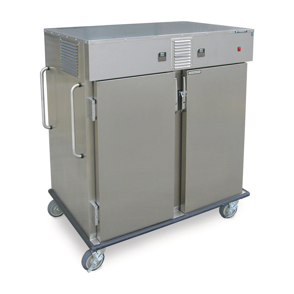 Lakeside 6760 12-Tray Combination Meal Delivery Cart, 115v