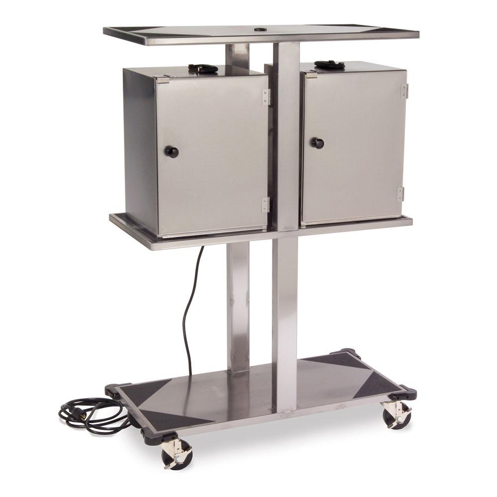 Lakeside 696 Stainless Steel Food Carrier Box Storage Rack - 120V