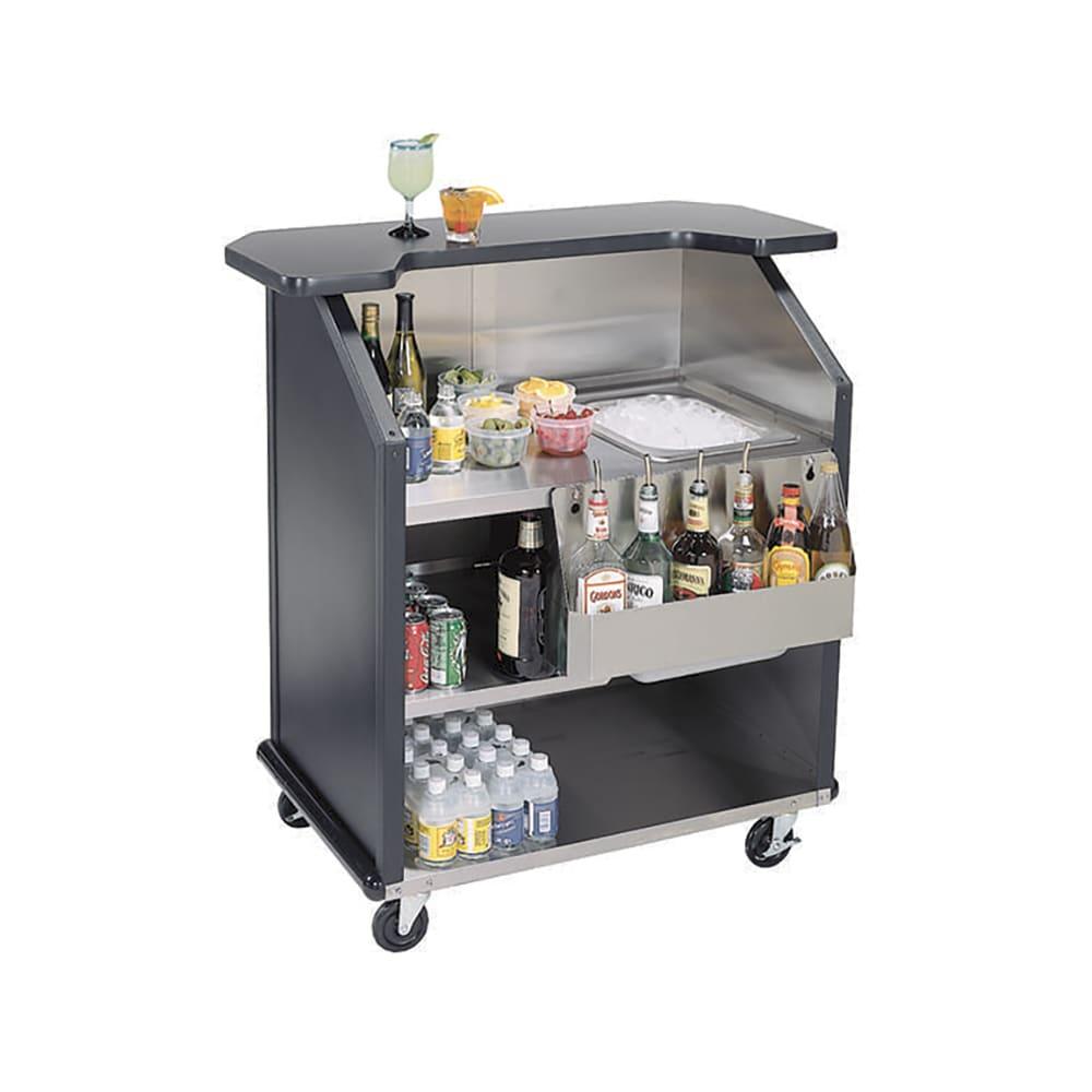 Lakeside 884 BEGSU 43 Portable Bar w/ 40-lb Ice Bin & Spe...