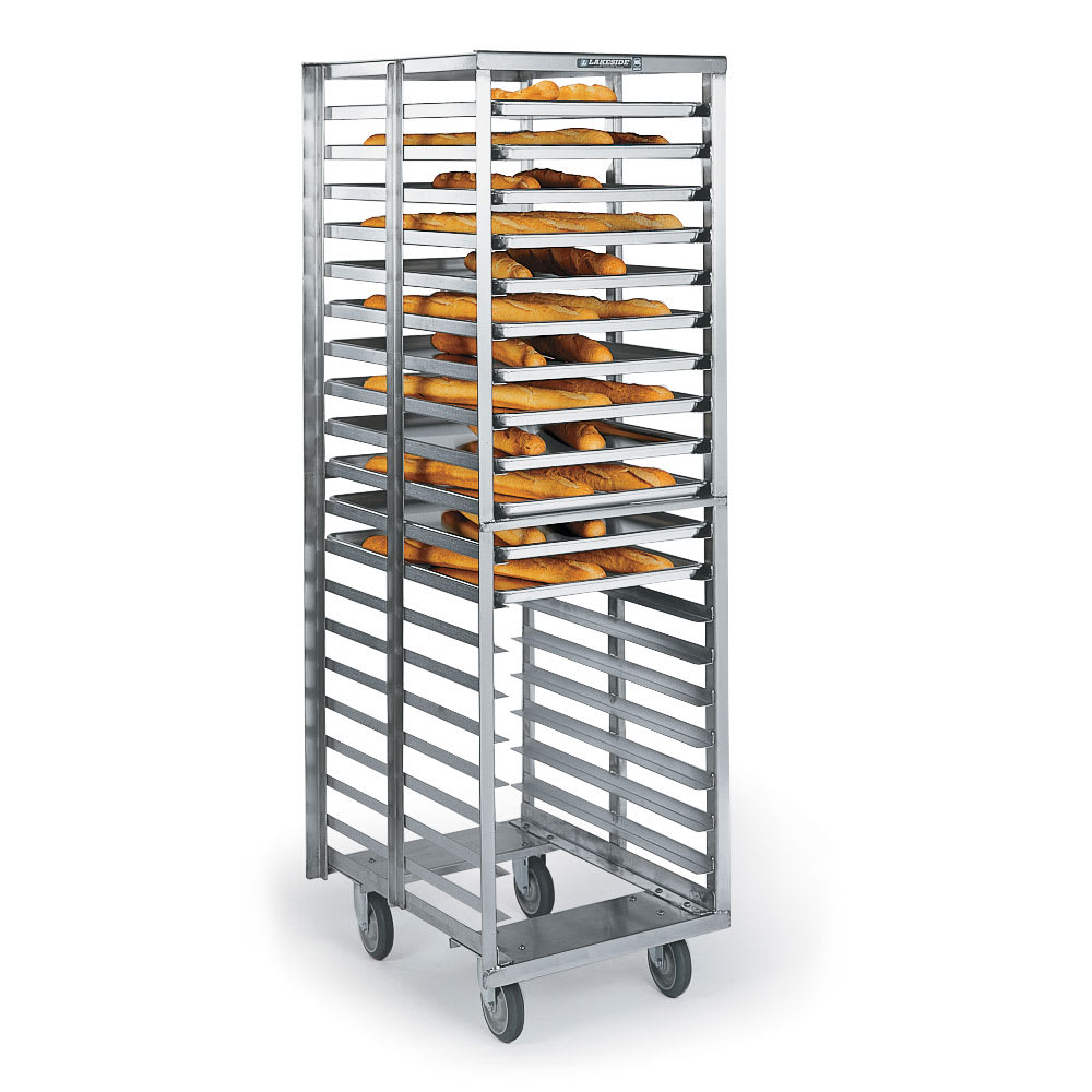 Lakeside 8900 20.75W 20-Sheet Pan Rack w/ 3 Bottom Load S...