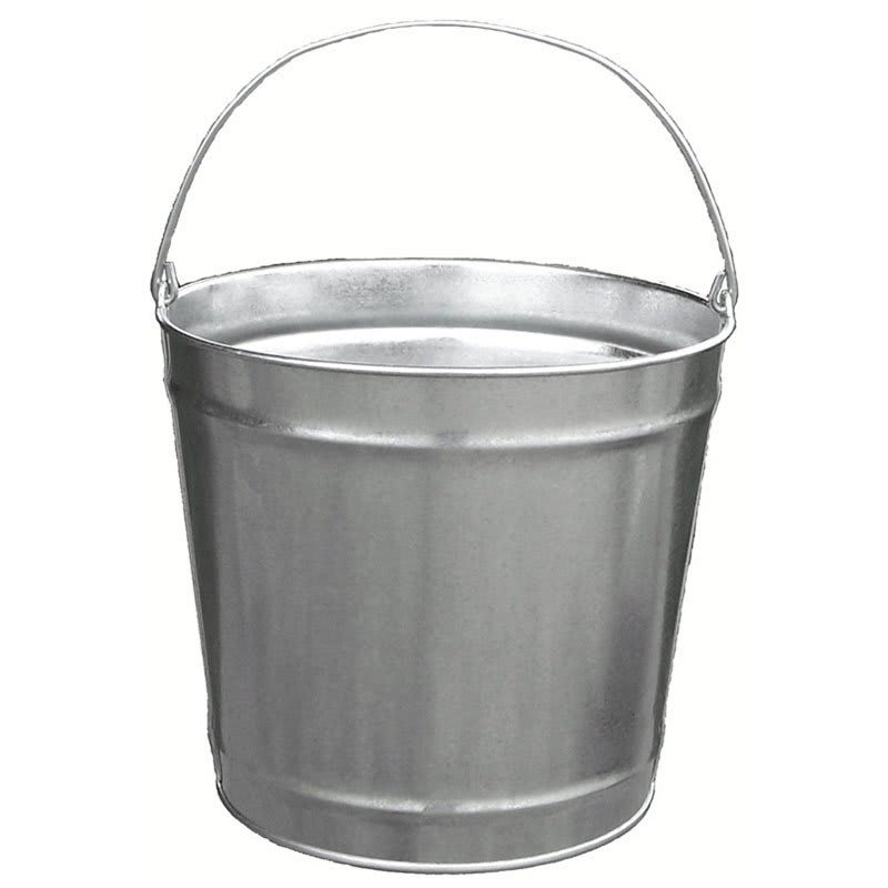 10 Quart Galvanized Bucket