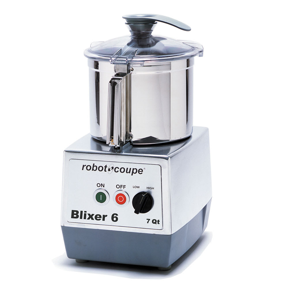 robot coupe blixer6 vertical commercial blender mixer w 7 qt capacity 2 speeds. Black Bedroom Furniture Sets. Home Design Ideas