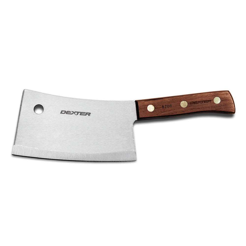 """Cleaver: Dexter Russell S5289 9"""" Cleaver W/ Rosewood Handle"""