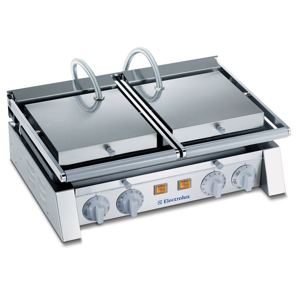Electrolux 602113 Double Commercial Panini Press w/ Cast ...
