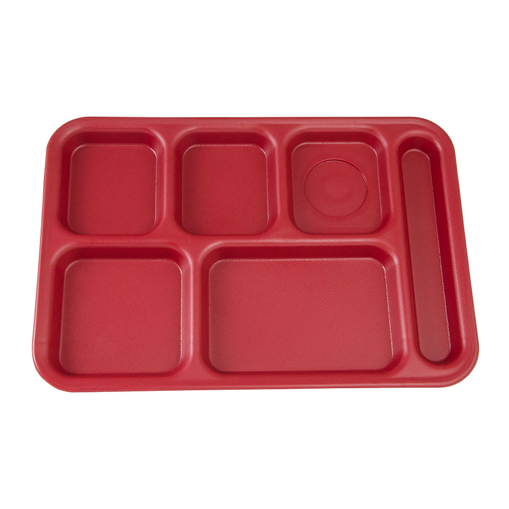Cambro Ps1014416 Rectangular Penny Saver School Tray 6