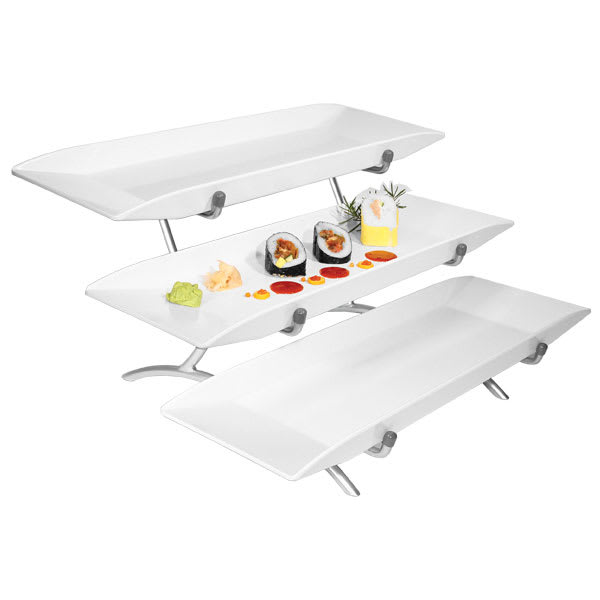 CAL-MIL SR1033-13 3-Tier Rectangular Sierra Display Set -...