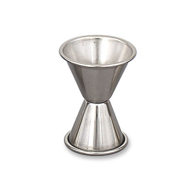 Browne 1294 Double Jigger - 0.75 & 1.25 oz., Stainless St...