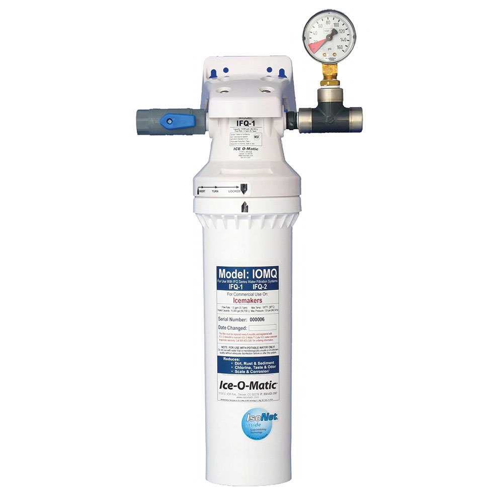 ICE-O-MATIC IFQ1-XL Single Water Filter Manifold for 1,00...