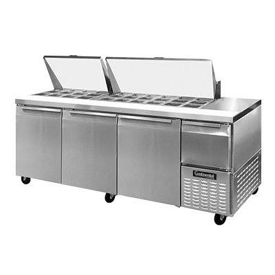 Continental CRA93-30M 93 Sandwich/Salad Prep Table w/ Ref...