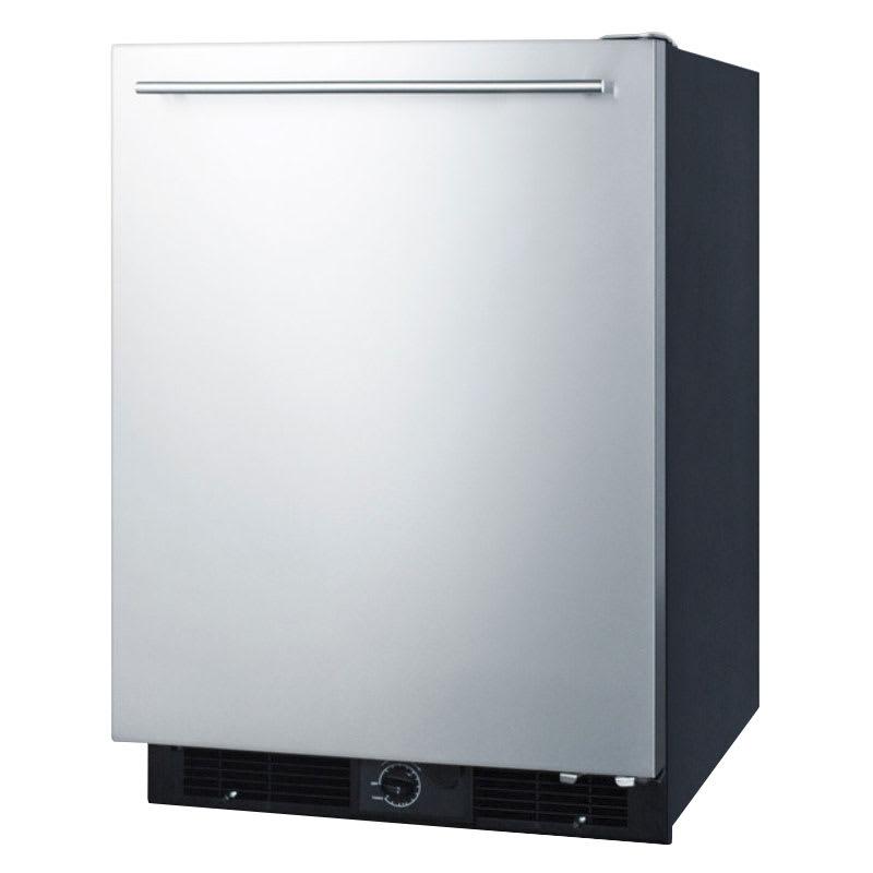 Summit ff590sshh undercounter refrigerator w frost free interior 5 7 cu ft for Platinum interior refrigerator