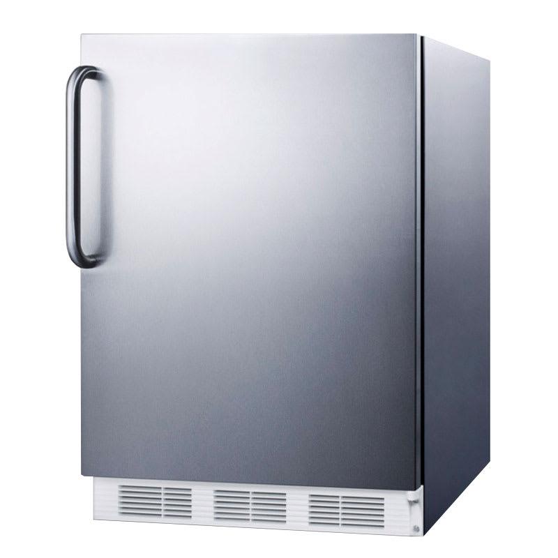 Summit FF7CSS 5.5-cu ft Undercounter Refrigerator w/ (1) ...