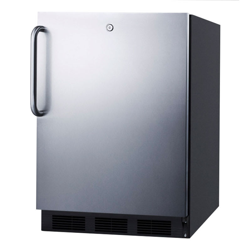 Summit FF7LBLBISSTBADA Undercounter Medical Refrigerator ...