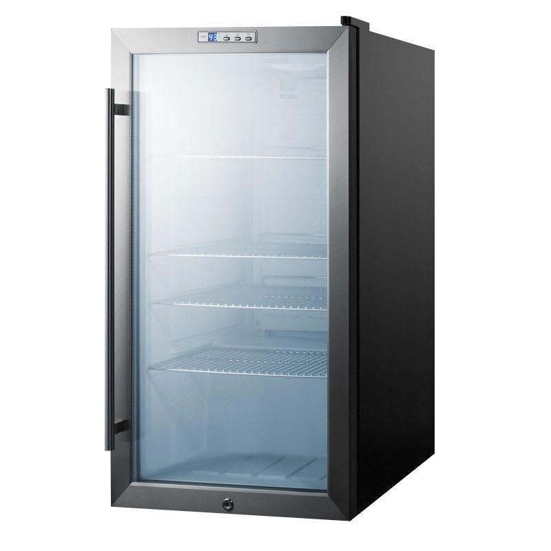 Summit SCR486L 19 Countertop Refrigerator w/ Front Access...