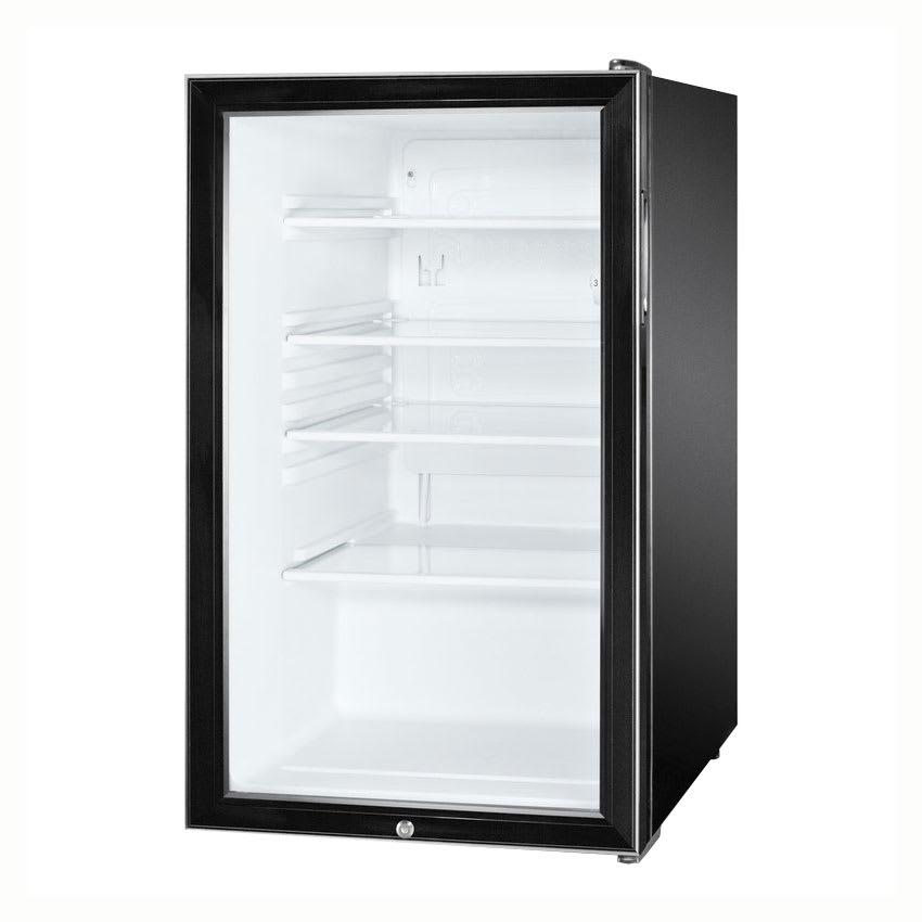 Summit SCR500BL7 4.1 cu ft Undercounter Refrigerator w/ (...