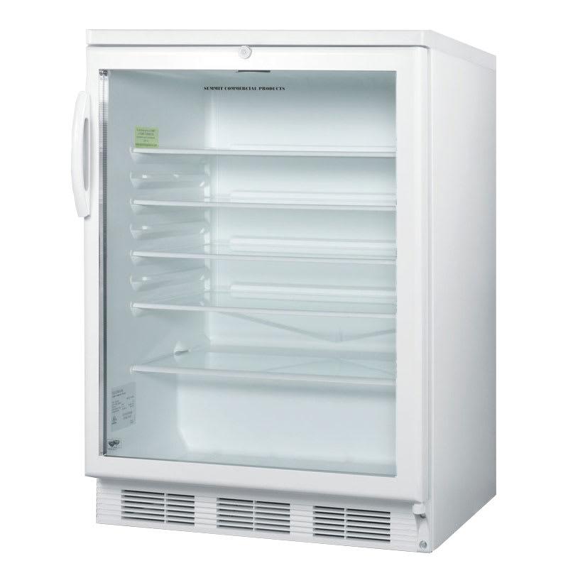 Summit SCR600L 24 Countertop Refrigerator w/ Front Access...