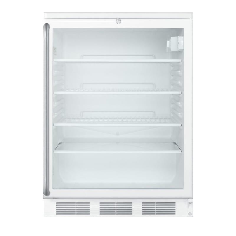 Summit Scr1841b 18 1 Section Bar Refrigerator Swinging Glass