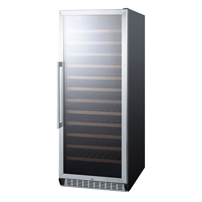 Summit SWC1102 24 One Section Wine Cooler w/ (1) Zone, 10...