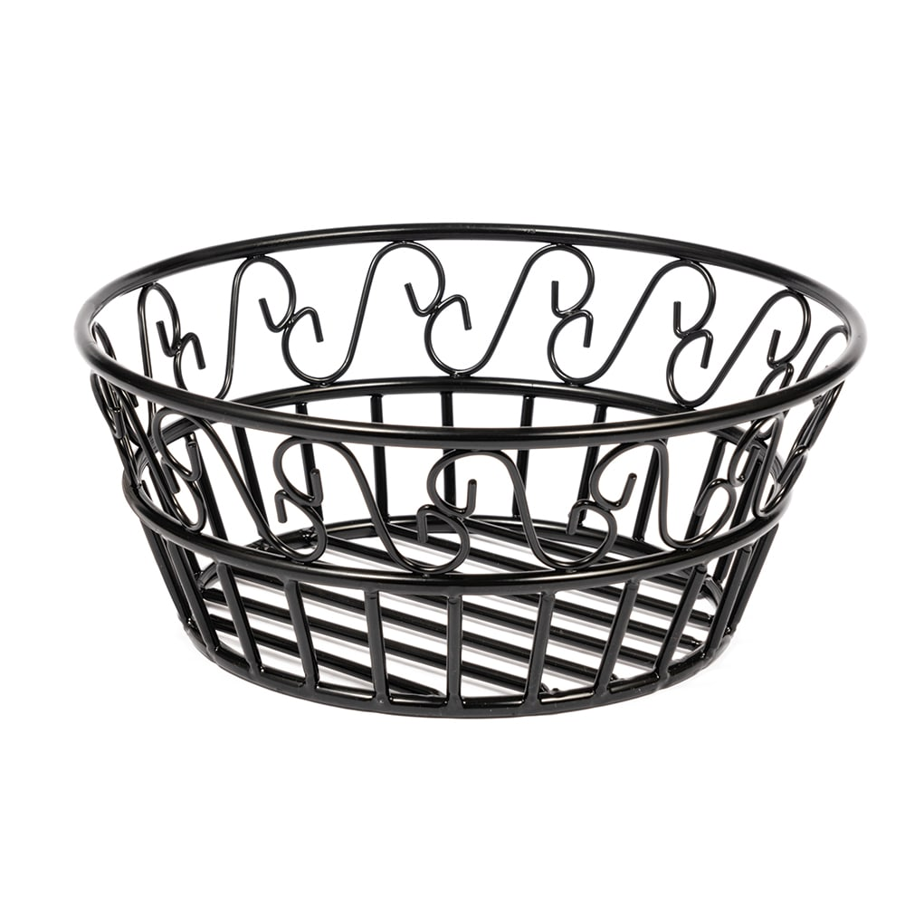 American Metalcraft BLSB93 9 Bread Basket w/ Scroll Desig...