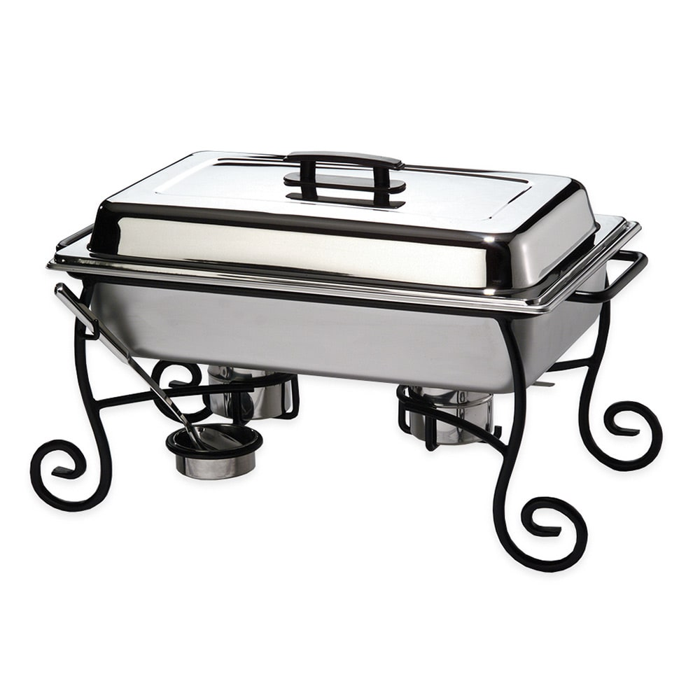 American Metalcraft CF1 Chafer Frame & Cup w/ Side Handle...