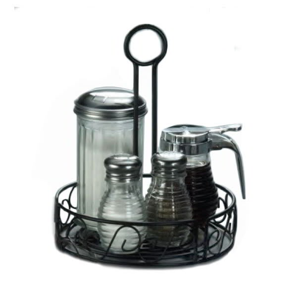 American Metalcraft WBCC7 7.5 Condiment Rack w/ Center Ha...