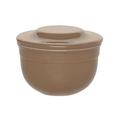 Emile Henry 968621 4 Round Ceramic Butter Pot w/ 7 oz Capacity, Oak