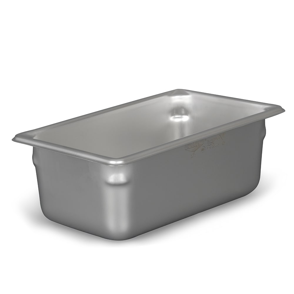 Vollrath 30442 Super Pan V Fourth-Size Steam Pan, Stainless