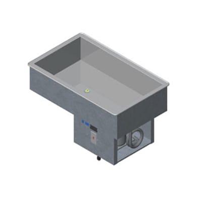 Vollrath 36441R 29 Drop-In Refrigerator w/ (2) Pan Capaci...