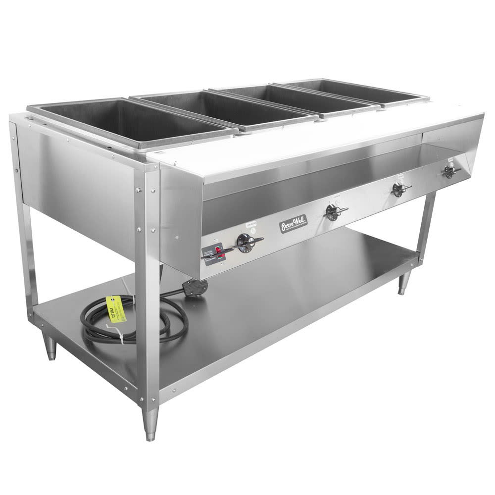 Serve Well Steam Table Steam Tables Compare Prices At Nextag - 4 well gas steam table