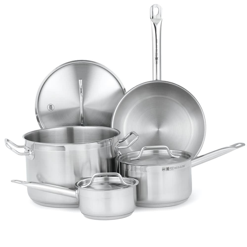 Vollrath 3822 Optio Deluxe Cookware Set - (7) Piece, Indu...