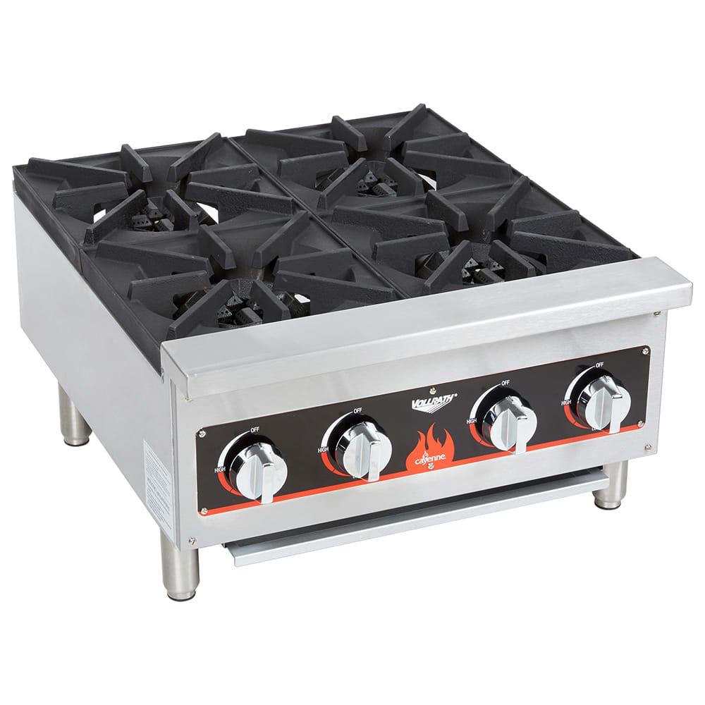 Vollrath 40737 23.63 Gas Hotplate w/ (4) Burners & Manual...