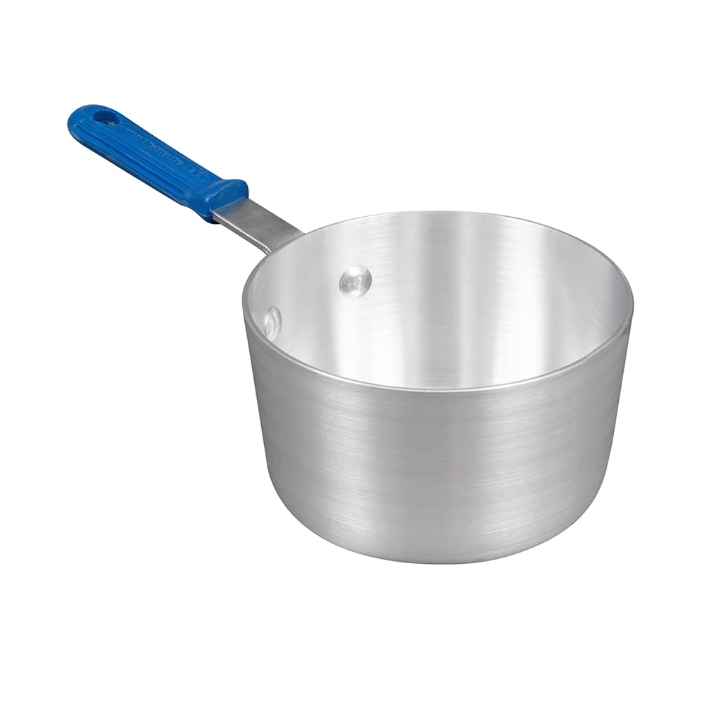 Vollrath 434112 1.5-qt Aluminum Saucepan w/ Solid Silicon...