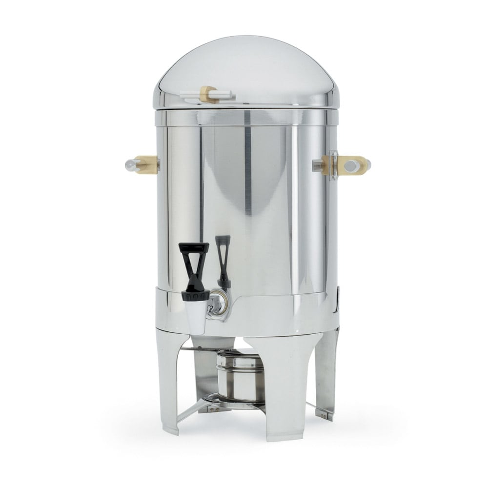 Vollrath 48794 5 Gal Coffee Urn - Dome Cover, Silverplated