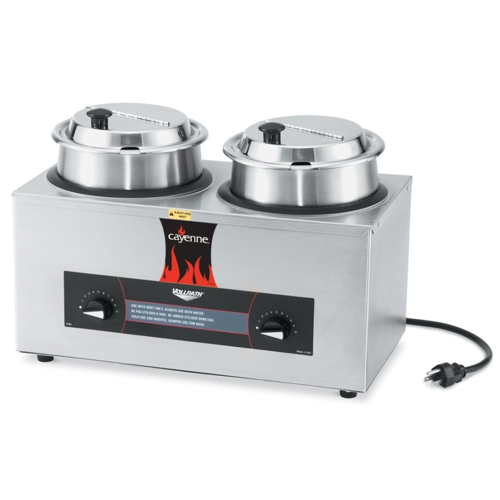 Vollrath Soup Warmers ~ Vollrath  qt countertop soup warmer w