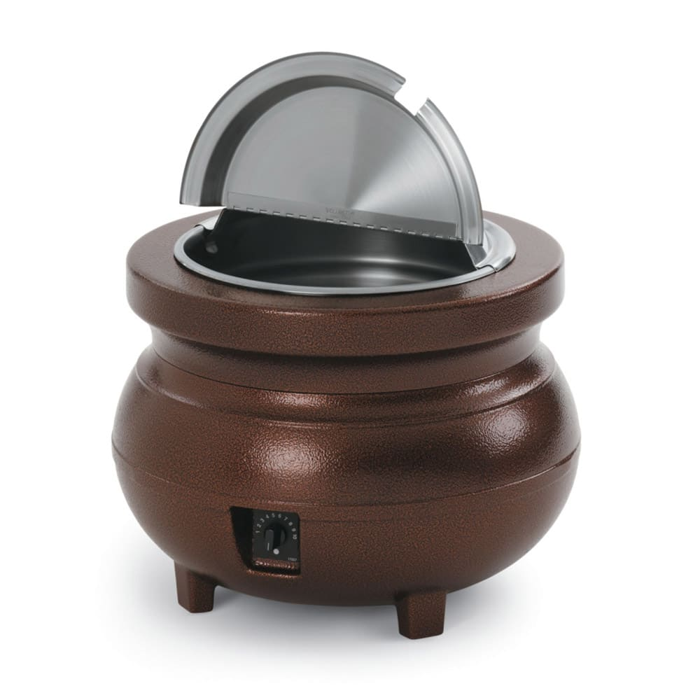Vollrath 72166 11 qt Countertop Soup Warmer w/ Thermostat...
