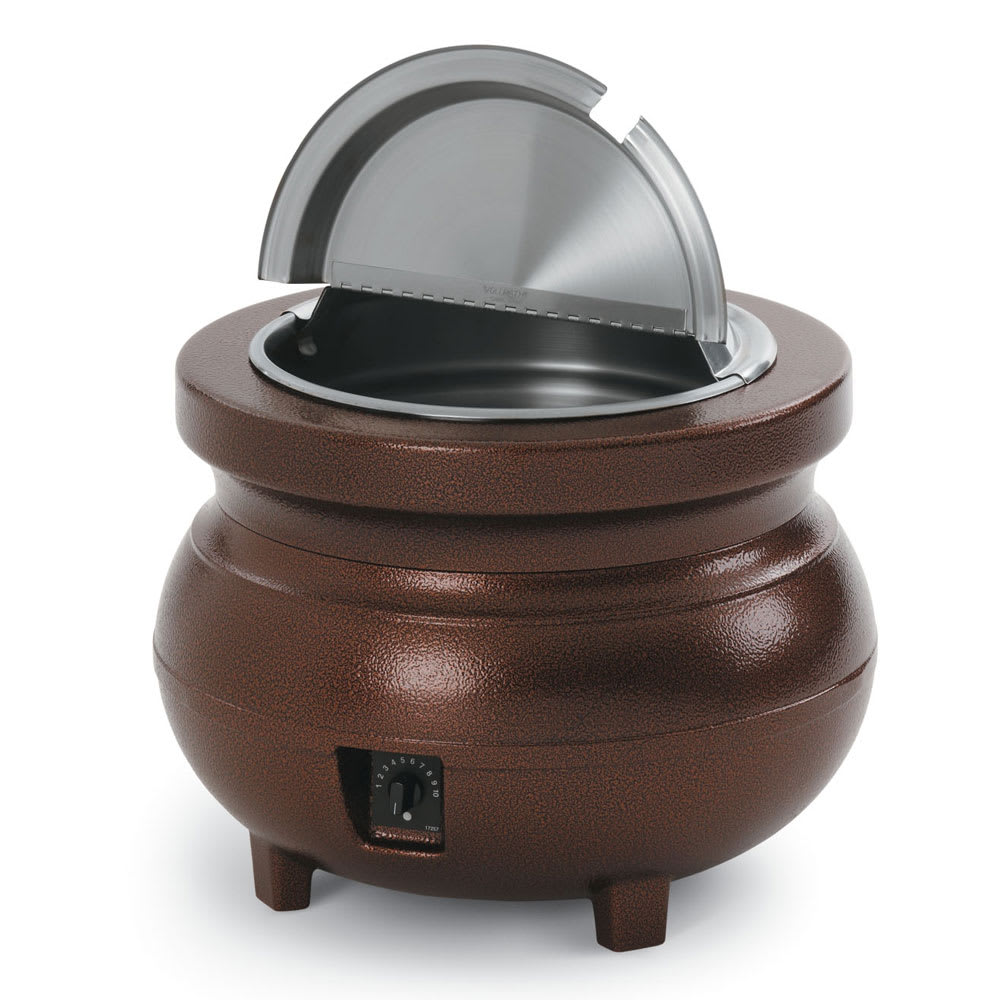 Vollrath 72176 11 qt Countertop Soup Warmer w/ Thermostat...