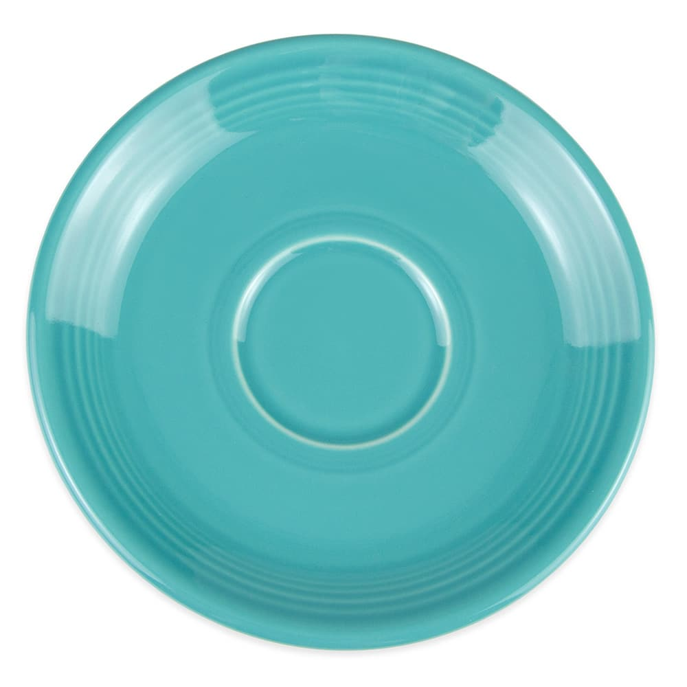 Homer Laughlin 470107 5.87 Fiesta Saucer - China, Turquoise