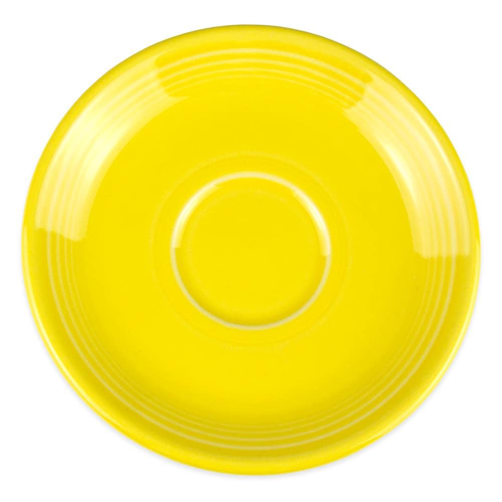 Homer Laughlin 470320 5.87 Fiesta Saucer - China, Sunflower