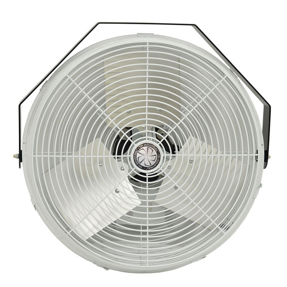TPI U-18-CR 18 Wall/Ceiling Fan w/ (3) Speeds - Steel, 120v