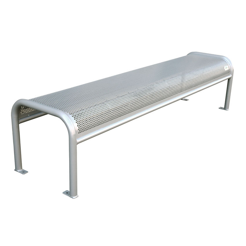 Emu U340b 81 Quot Outdoor Backless Bench W Perforated Mesh