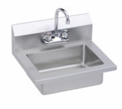 Elkay EHS-18X Wall Mount Commercial Hand Sink w/ 14L x 10...