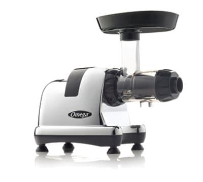 Omega J8008C Masticating Juicer - Low-Speed, 6-Nozzles, S...