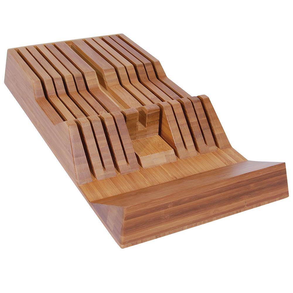 Shun DM0835 11-Slot Shun In-Drawer Bamboo Knife Tray