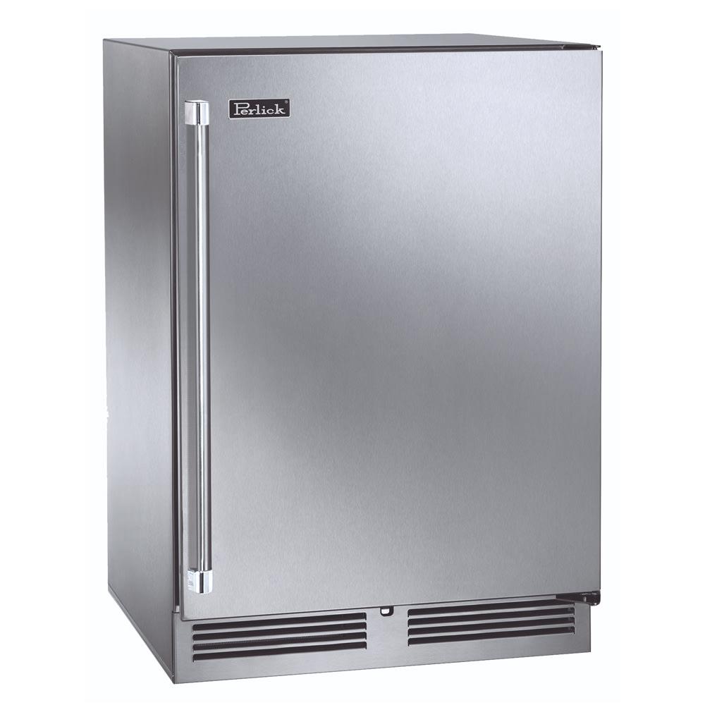 Perlick HC24RS 5.3 cu ft Undercounter Refrigerator w/ (1)...
