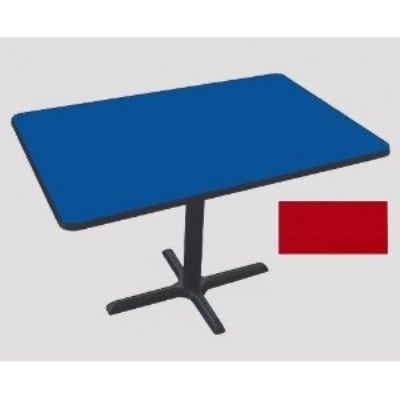 Correll BCT3048 25 30 x 48 Bar Cafe Table w/ 1.25 Pressur...