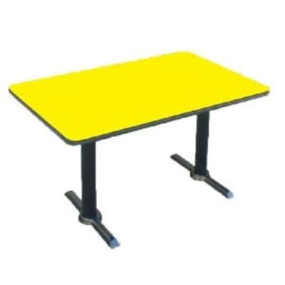 Correll BTT3048 28 30 x 48 Bar Cafe Table w/ 1.25 Pressur...