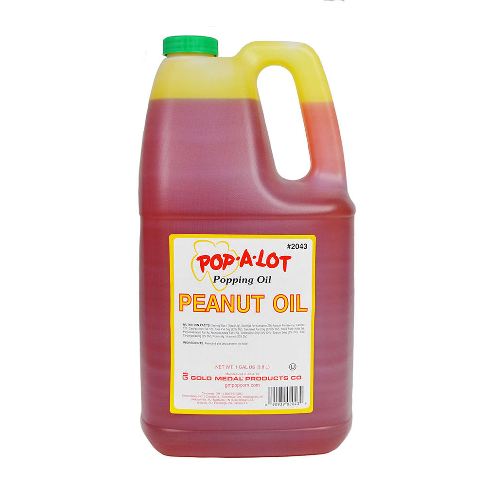 Gold Medal 2043 Peanut Oil, (4) 1 Gallons Per Case