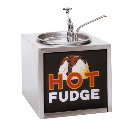 Gold Medal 2201 Pump-Style Hot Fudge Warmer w/ Oversized ...