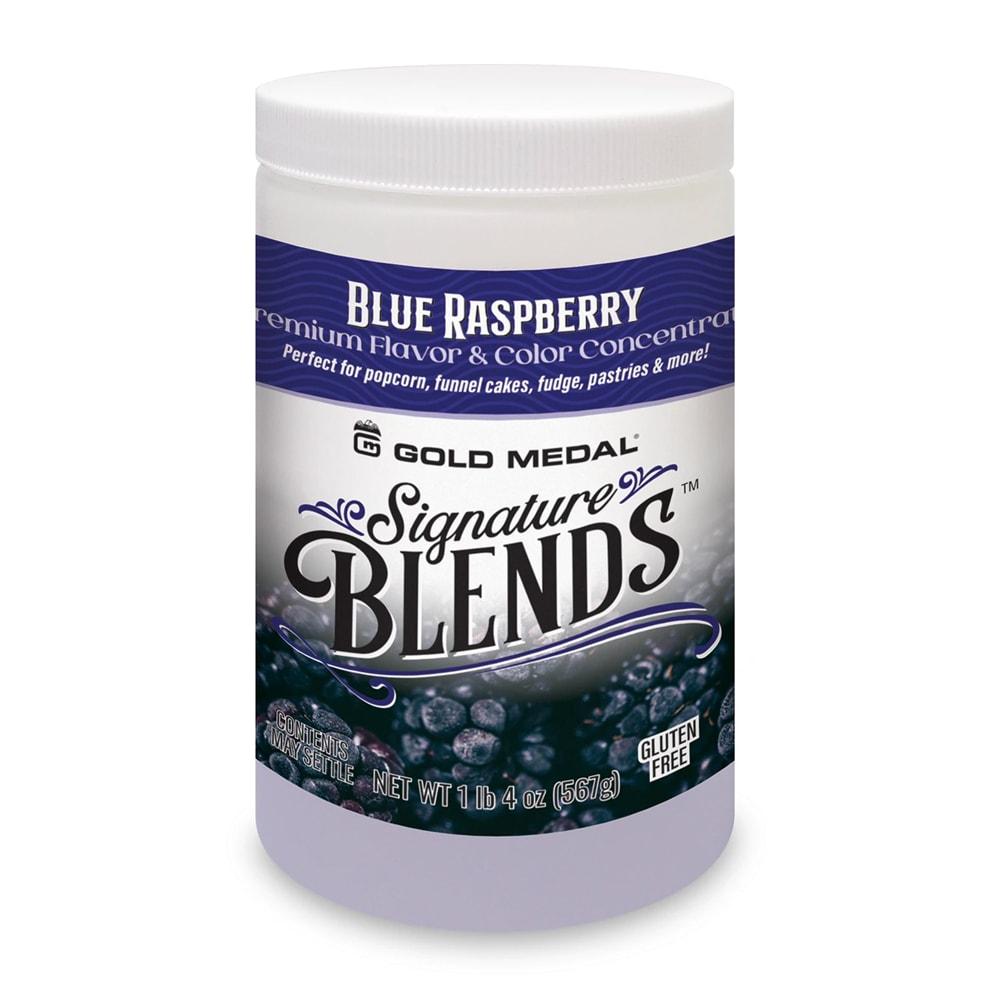 Gold Medal 2290 Candy Glaze Corn Treat Flavor Mixes, Blue Raspberry