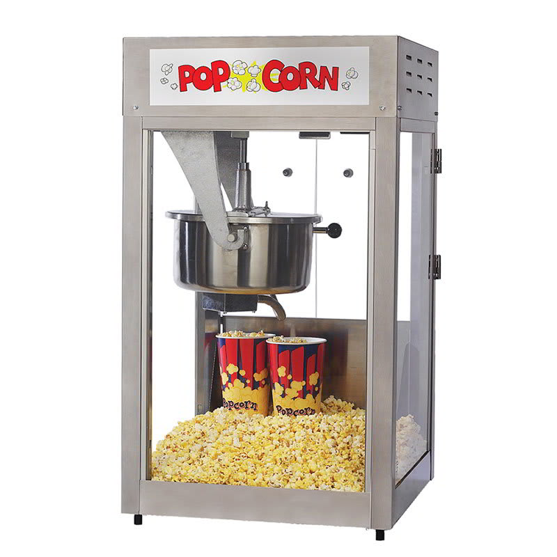 Gold Medal 2600 Super Pop Maxx Popcorn Machine w/ 16 oz ...