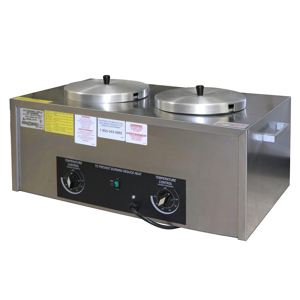 Gold Medal 4211C High Output Twin Caramel Apple Dip Warmer